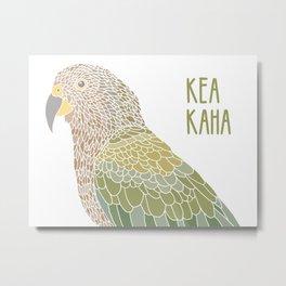 Stay strong little kea Metal Print