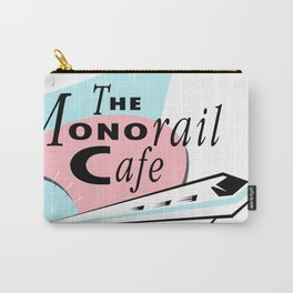 THE MONORAIL CAFE Carry-All Pouch