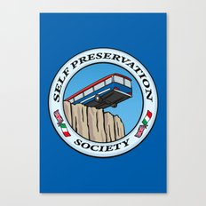 Self Preservation Society Canvas Print