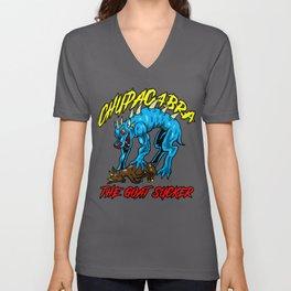 Chupacabra Goatsucker Animal Monster Cryptide Gift Unisex V-Neck