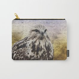 Found Somewhere Between - Inspirational Art Carry-All Pouch