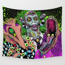 Ghost Monsters Wall Tapestry