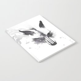 October Fox Notebook