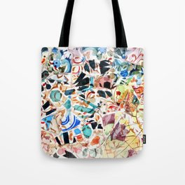 Mosaic of Barcelona VI Tote Bag