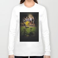 tour de france Long Sleeve T-shirts featuring tour de france by Emanuele Reina