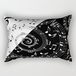 i love music Rectangular Pillow