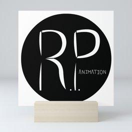 RP Animation Logo Mini Art Print