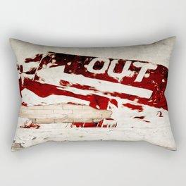 Out Rectangular Pillow