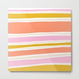 del mar, 70's stripes Metal Print