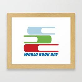 book day Framed Art Print