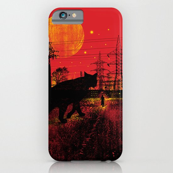 Cleo in the Dark iPhone & iPod Case