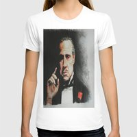 the godfather T-shirts featuring The Godfather by Tridib Das
