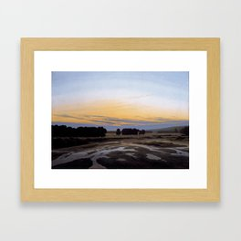 The Grosse Gehege near Dresden Framed Art Print