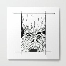 OPINIONS Metal Print