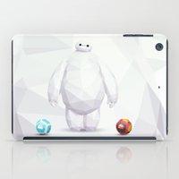 big hero 6 iPad Cases featuring Big Hero 6 - BAYMAX by Dominika G