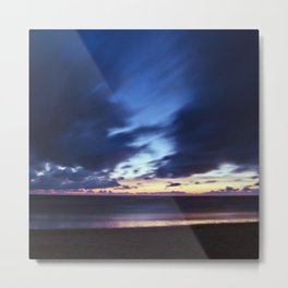 Magic Henne Beach on the West Coast of Denmark Metal Print