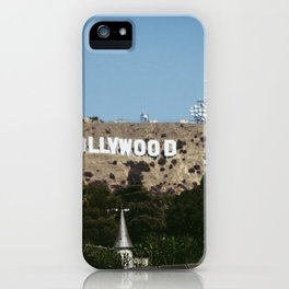 Cliche Hollywood Photo iPhone Case