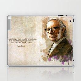 Isaac Asimov Portrait Laptop & iPad Skin