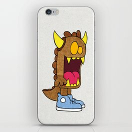 Ogre Troll in High Top Sneakers iPhone Skin