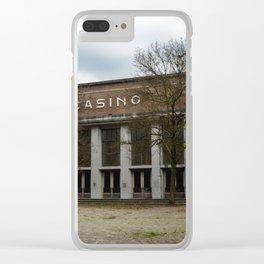 Gamblers Autumn Clear iPhone Case