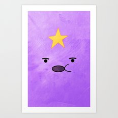 Adventure Time - Lumpy Space Princess Art Print