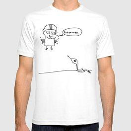 fuck you snake T-shirt