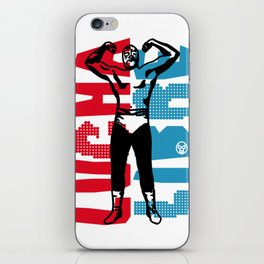 LUCHA LIBRE#60 iPhone Skin
