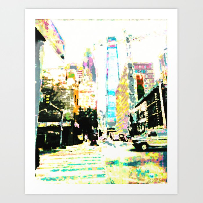 Arch Street Art Print