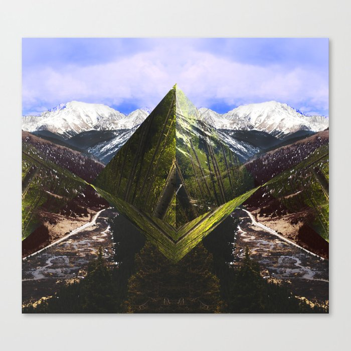 ASPEN DIAMONDS Canvas Print