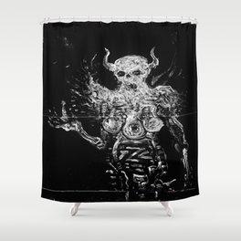 Succubus Shower Curtain