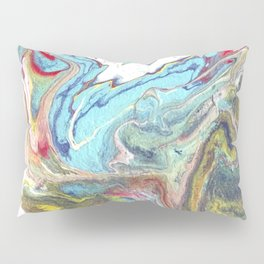 Study of turquoise II Pillow Sham