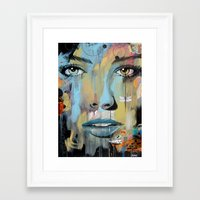 dragonfly Framed Art Prints featuring dragonfly by LouiJoverArt