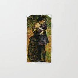 John Everett Millais - A Huguenot (A Huguenot on St Bartholomew's Day) Hand & Bath Towel