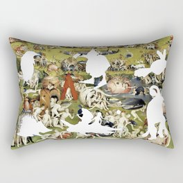 Bosch Creatures/Garden of Earthly Delights II Rectangular Pillow