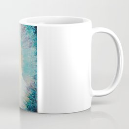 MYSTIC GARDEN Lovely Fairy Land Abstract Painting Acrylic Fine Art Winter Colorful Fantasy Magical Coffee Mug