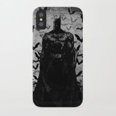 The night rises B&W iPhone X Slim Case