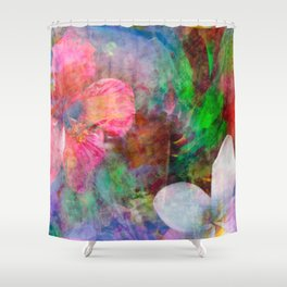 Kona Flora Shower Curtain