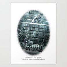 Behind You 65 Art Print