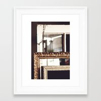 frames Framed Art Prints featuring Frames by Allison Dandrea