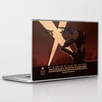 propaganda Laptop & iPad Skins featuring Propaganda Series 7 by Alex.Raveland...robot.design.digital.art
