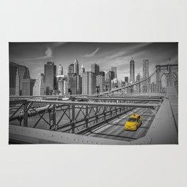 BROOKLYN BRIDGE Manhattan View Rug