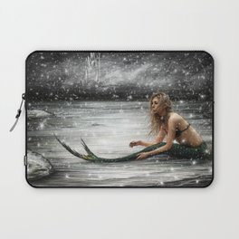 Winter Mermaid Laptop Sleeve