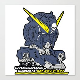 gundam crossbone x2 Canvas Print