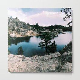 little lake Metal Print