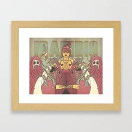 IRADIDIO Framed Art Print