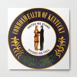 State of Kentucky seal Metal Print