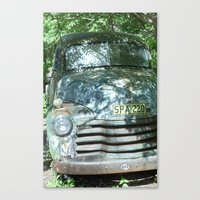 truck Canvas Prints featuring Truck  by Clint Harris
