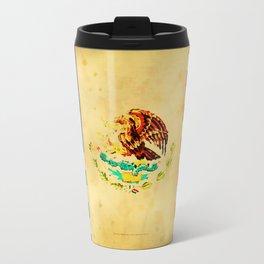 MEXICAN AMERICAN FLAG - 017 Travel Mug