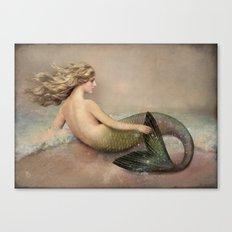Her Ocean Canvas Print