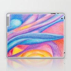 cloudy sunset Laptop & iPad Skin